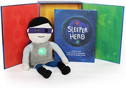 Amazon Com Sleeperhero The Superhero Toy Nightlight Clock Plush