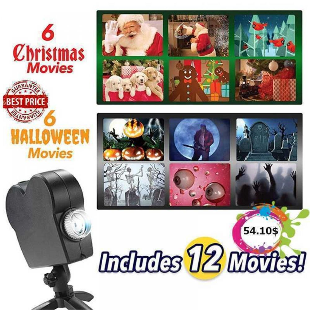 Window Wonderland Projector Price 55 84 Asseenontv Asseenontvproducttesting Christmaslights Ha In 2020 Halloween Projector Halloween Window Window Projector