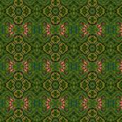Fluid Lattice fabric on Spoonflower.