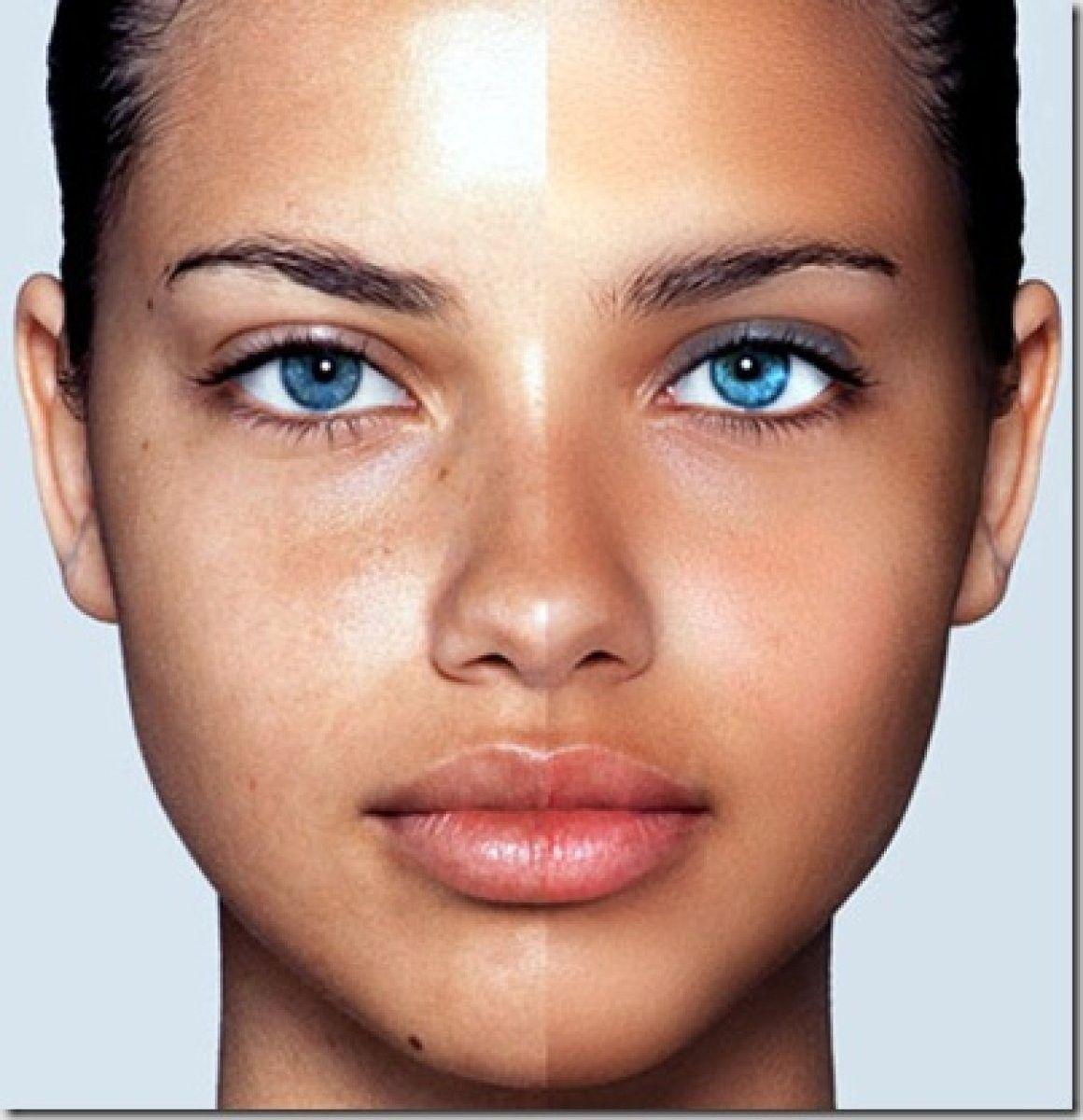 Como Conseguir La Piel Perfecta En Tus Retratos Con Photoshop Adriana Lima Sin Maquillaje Cutis Perfecto Piel Perfecta