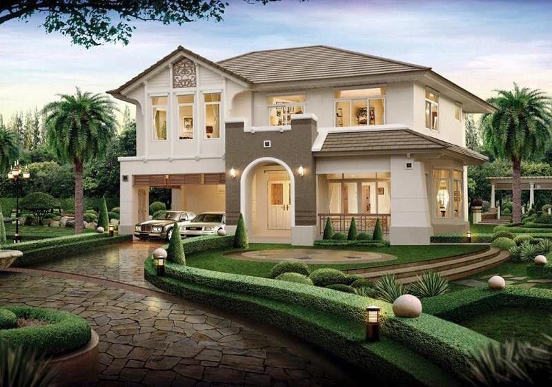 Casa Por Fuera Fachada De Casas Bonitas Casas Con Tejas Casas Estilo Campo