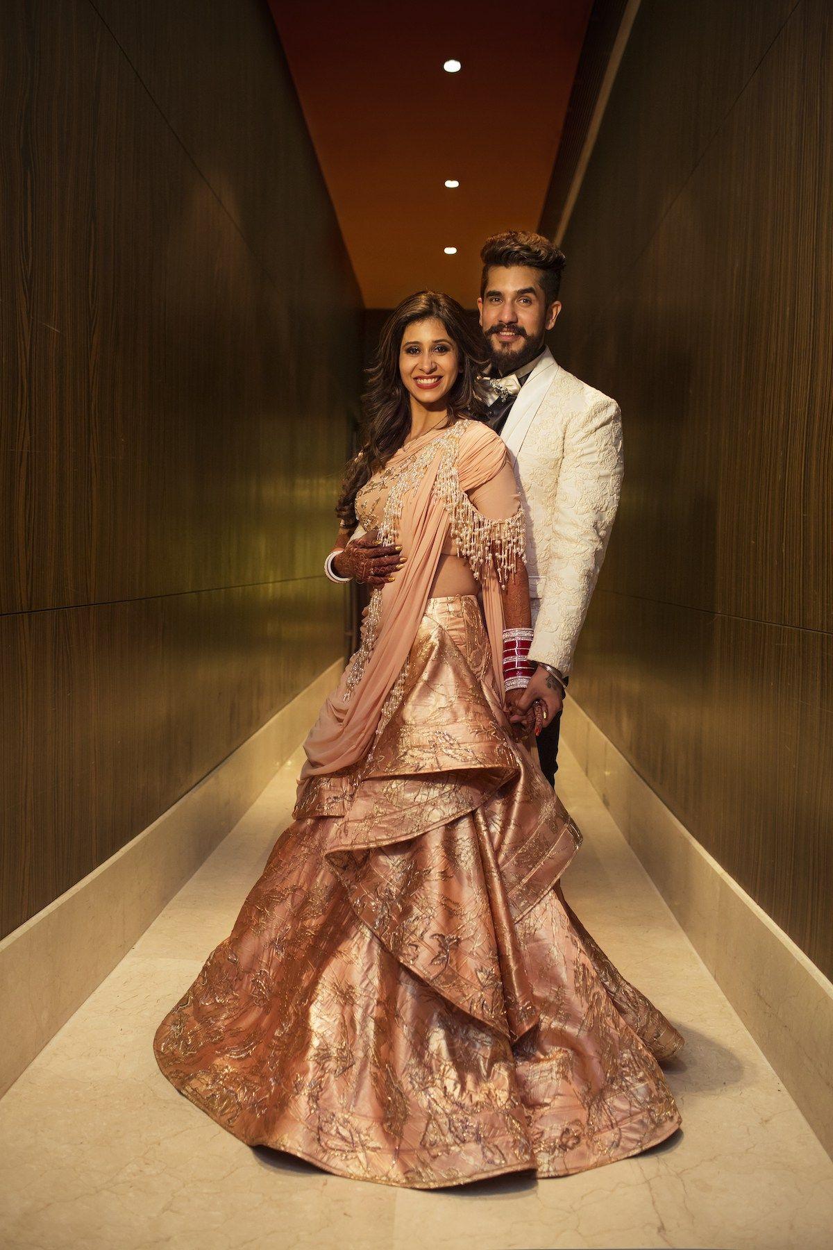 Pink Bridal Lehenga Kishwer + Suyyash South Asian