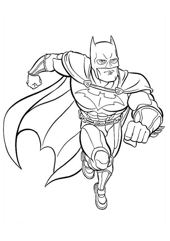 Coloring Page Batman Avengers Coloring Pages Batman Coloring Pages Superhero Coloring