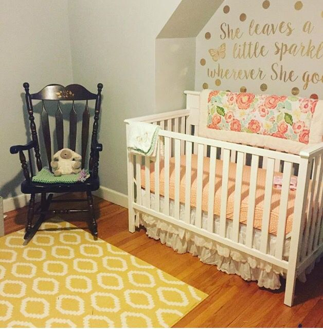 Love How The Levtex Charlotte Crib Set Turned Out