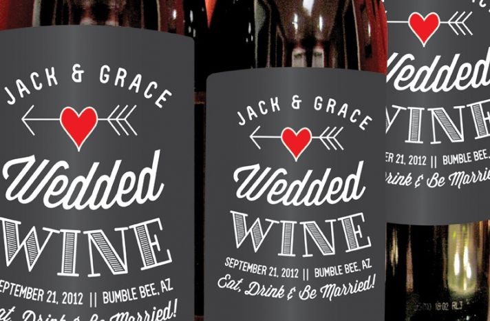 Personalized Wedding Ideas Custom Wine Labels For The Reception Wedded