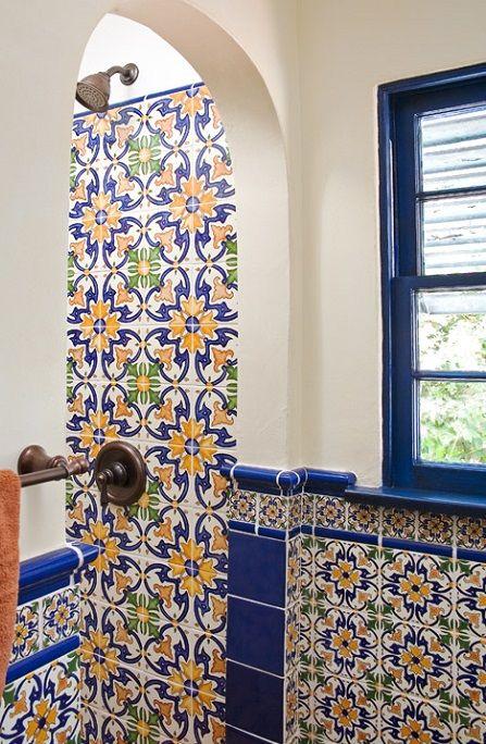 Spanish Bathroom Tile