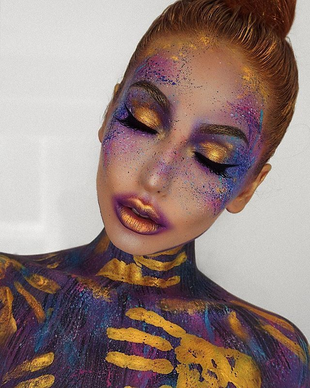 How would you name this makeup? And can you guess the