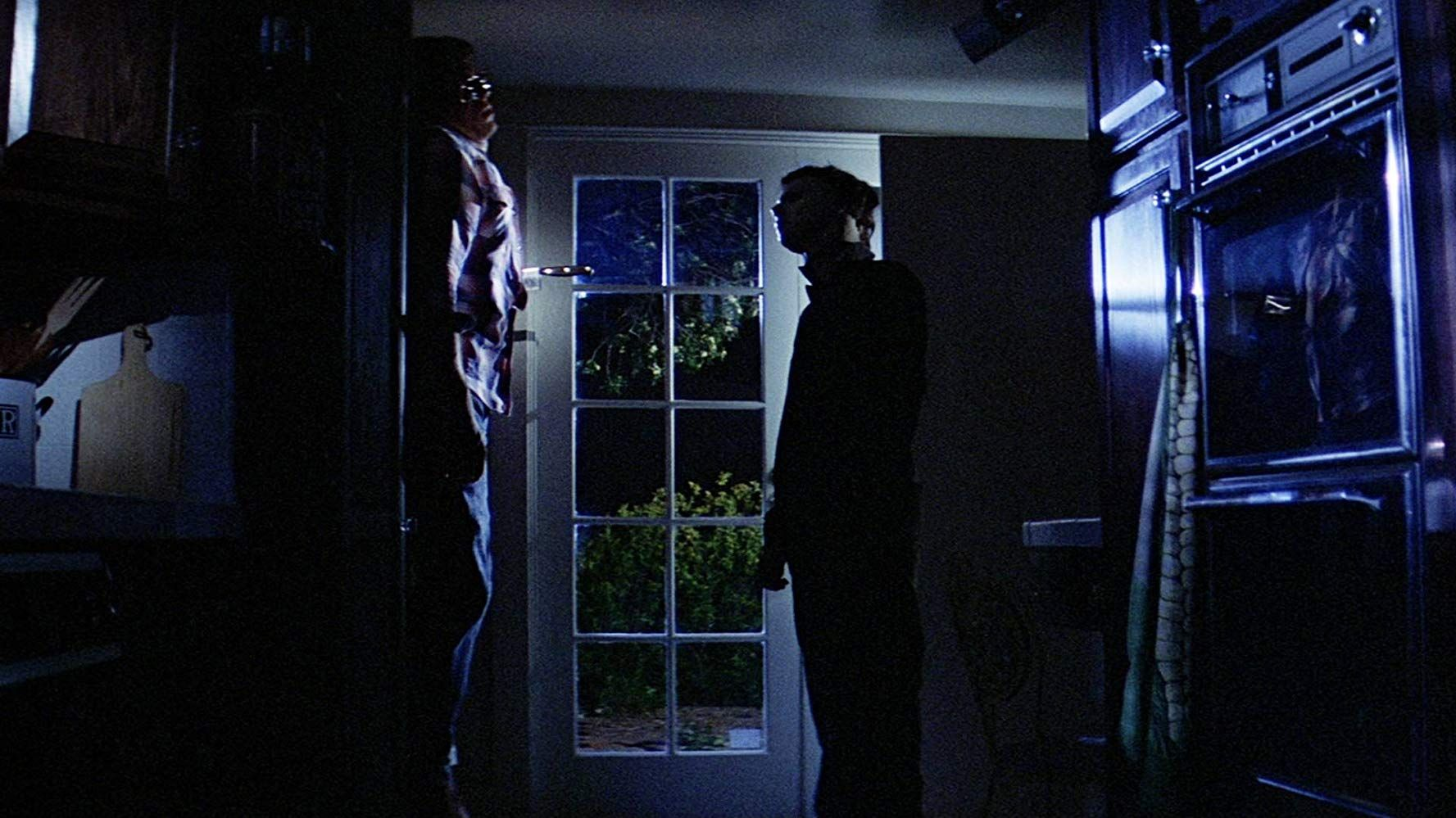 Nick Castle and John Michael Graham in Halloween (1978)
