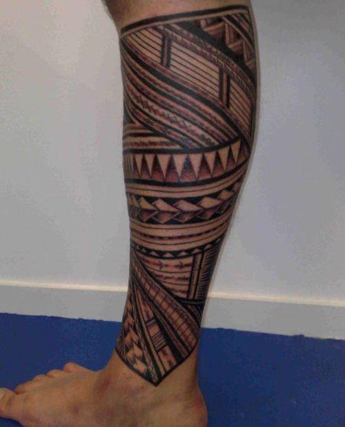 e9c919fe1 15 Full and Lower Leg Tattoo Designs for Men and Women | Tats ...
