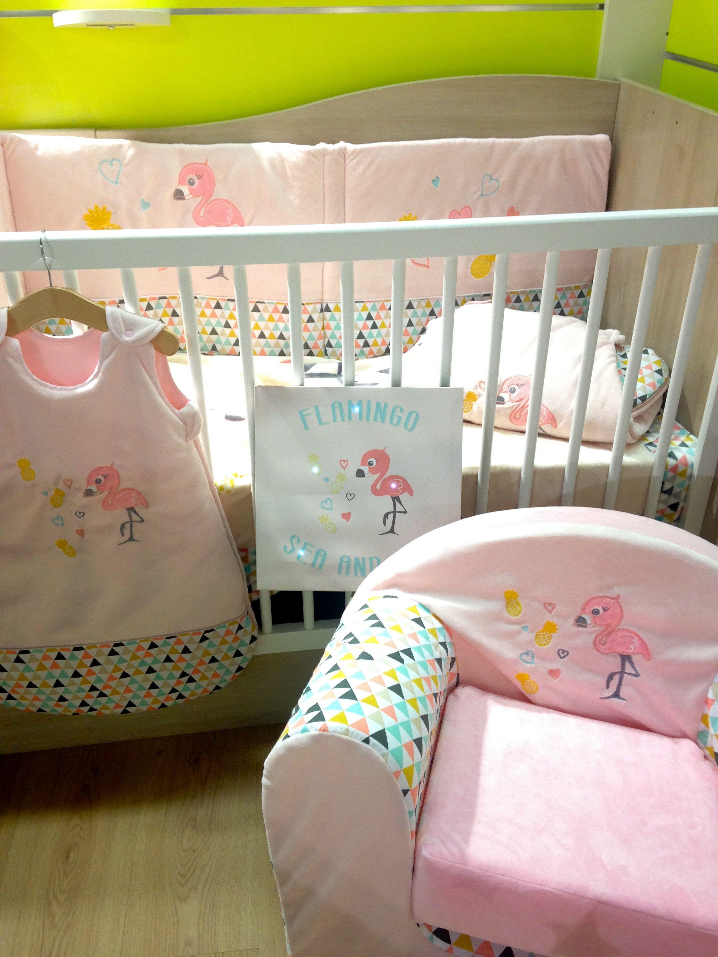 le nouveau th me de lit flamingo de domiva en exclusivit. Black Bedroom Furniture Sets. Home Design Ideas