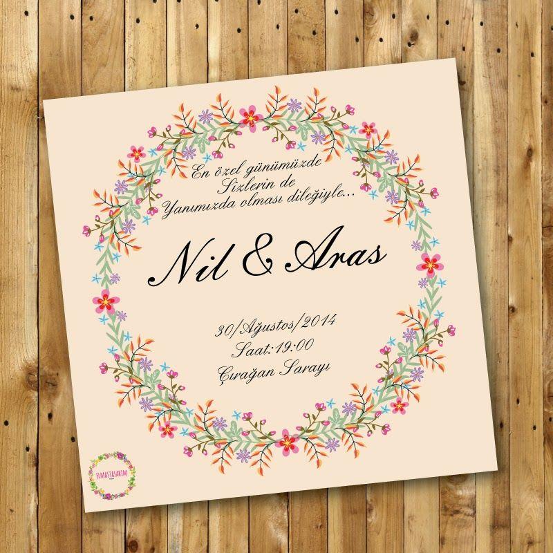 elmastasarim wedding invitations Pinterest Wedding logos - fresh wedding invitation card on whatsapp