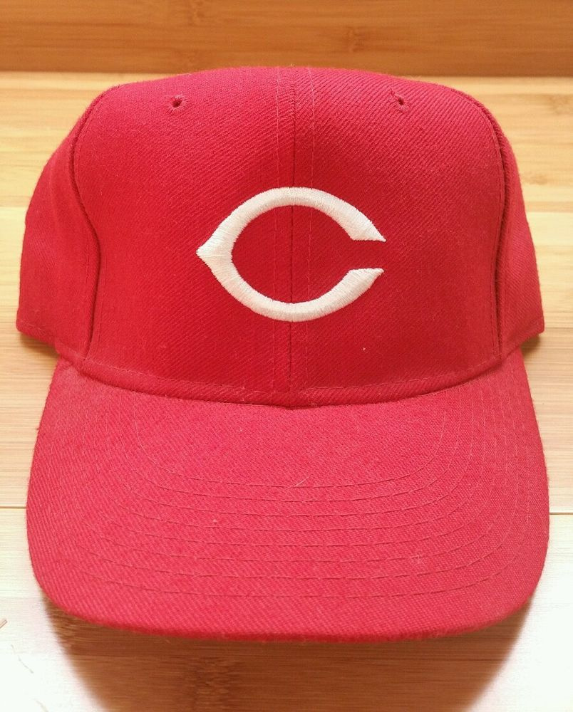 Cincinnati Reds Vintage New Era Fitted Hat, Diamond Collection, 6 7
