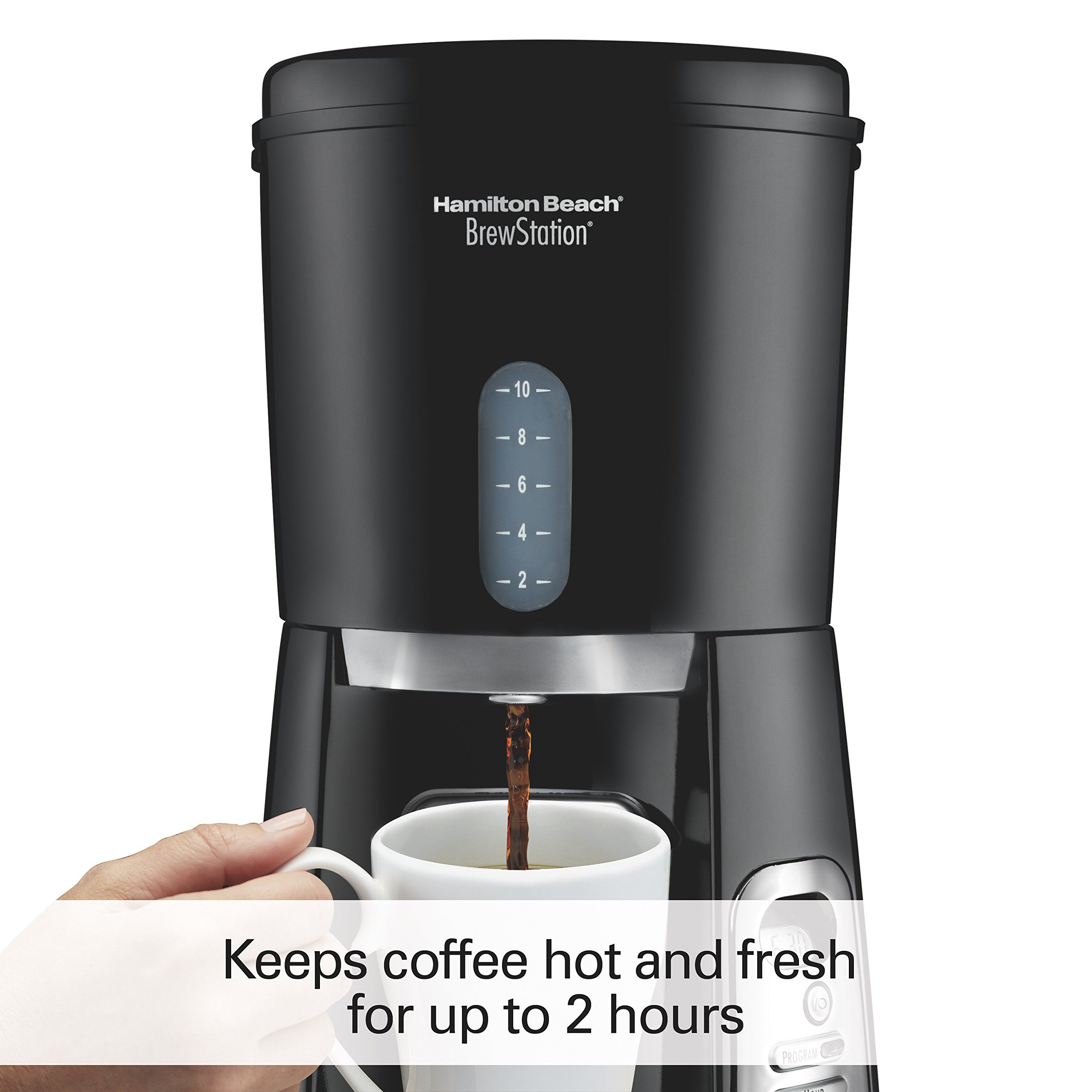 Hamilton Beach 10cup Coffee Maker Programmable Brewstation Dispensing Coffee Machine 47380 You Can Get More Details By C Coffee Machine Coffee Maker Coffee