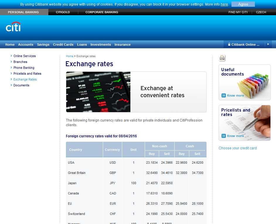 Citibank Singapore Forex Exchange Rate