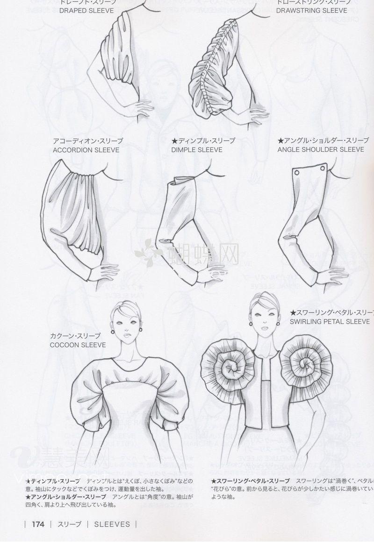 Guid To Fashion Design By Bunka Fashion Coollege Japan Sleeves Illustration De Mode Dessin De Mode Design De Mode