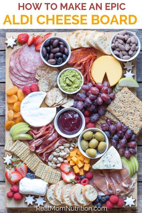 How to Make An Epic ALDI Cheese Board