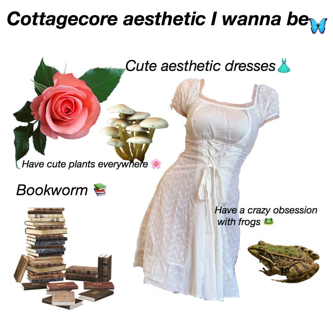 Cottagecore Niche Meme [ 1080 x 1080 Pixel ]