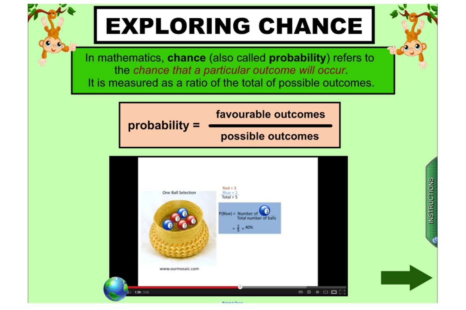 Explore Probability With This Fun Iwb Lesson Students