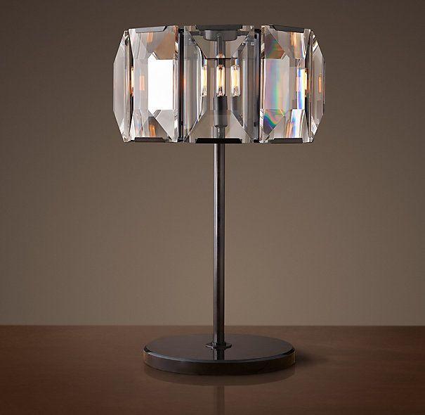 Harlow Crystal Table Lamp