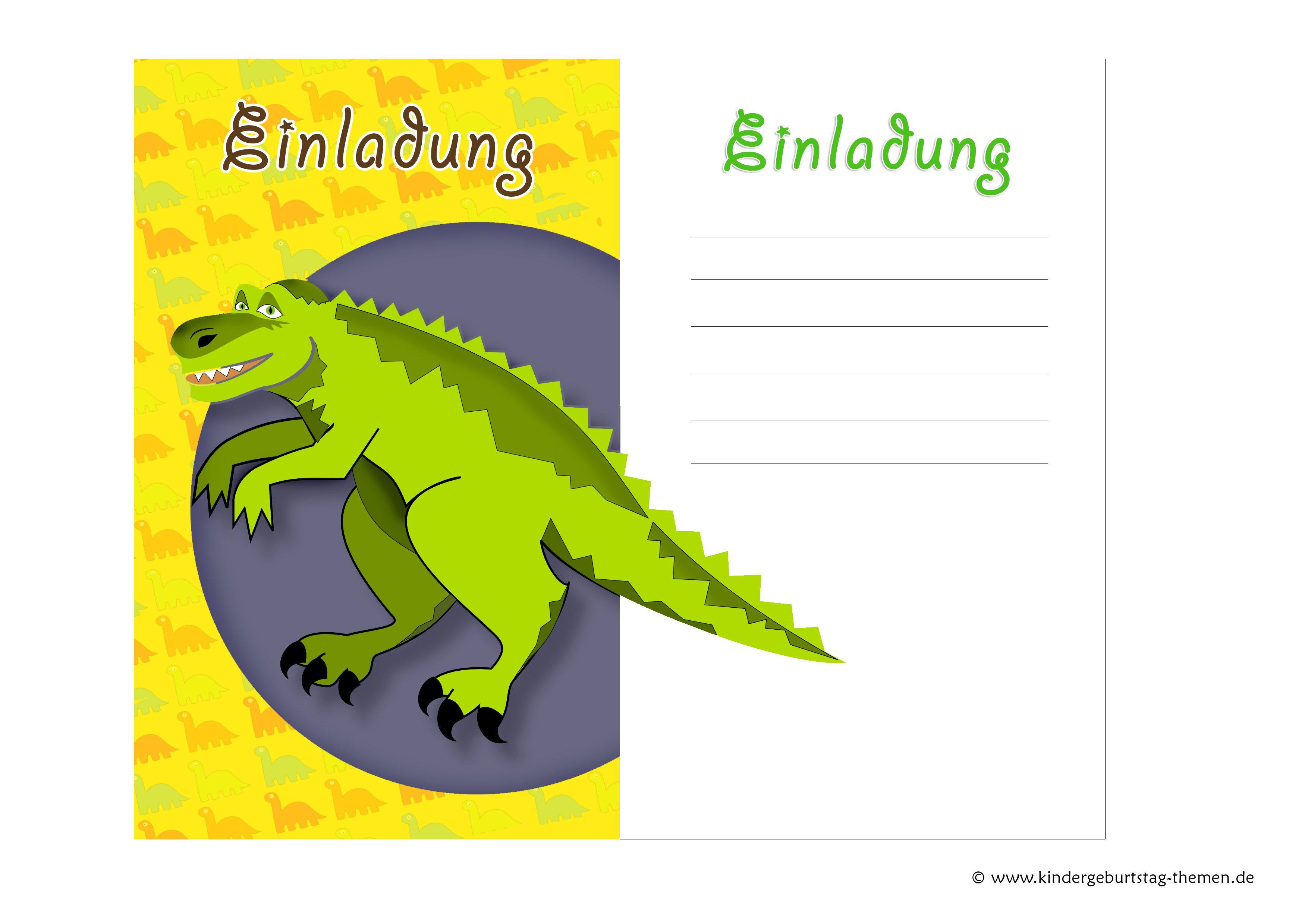 Dino Einladungskarten Basteln Diy Vorlagen Fur Motto Party Einladung Geburtstag Geburtstag Einladung Vorlage Einladungskarten Geburtstag Kostenlos