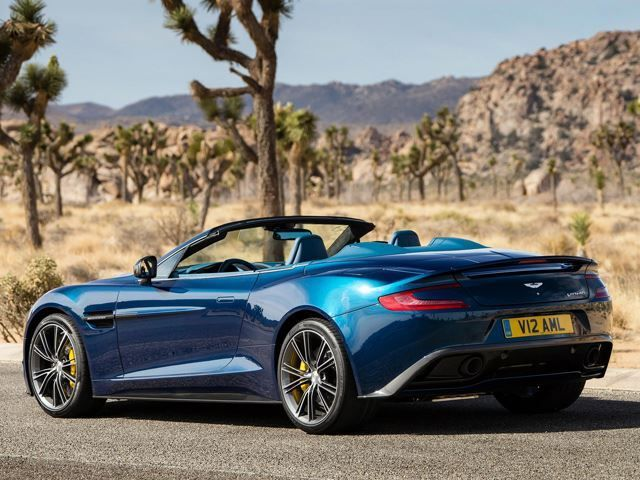The 2017 Aston Martin Vanquish Volante Is A Shocking Luxury Sports Car It Brings Excitement Of Having Open Top Motoring In Towards Super Gt Cl