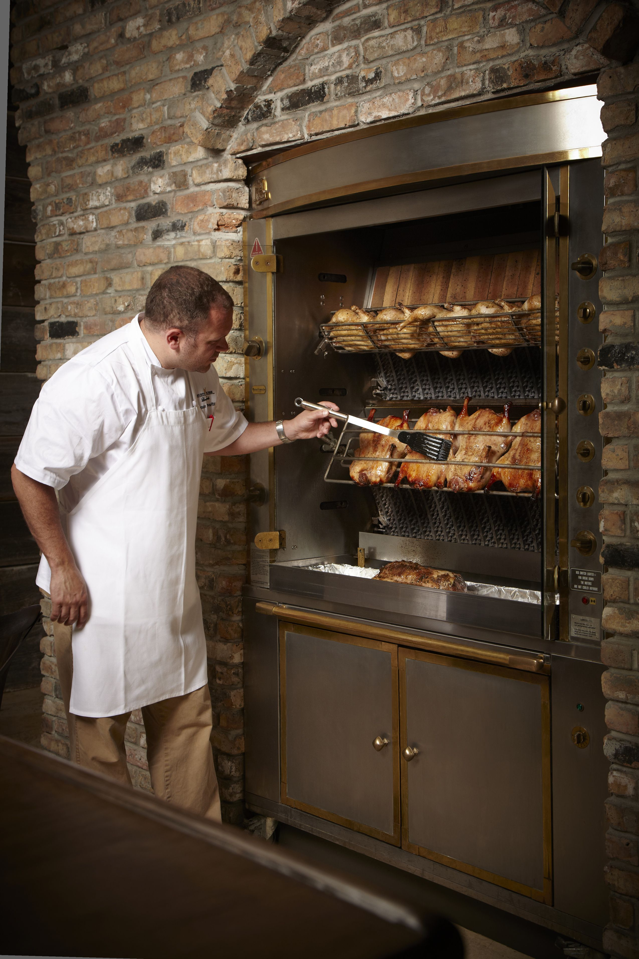 We Offer Our Signature Rotisserie Chicken To Go Our