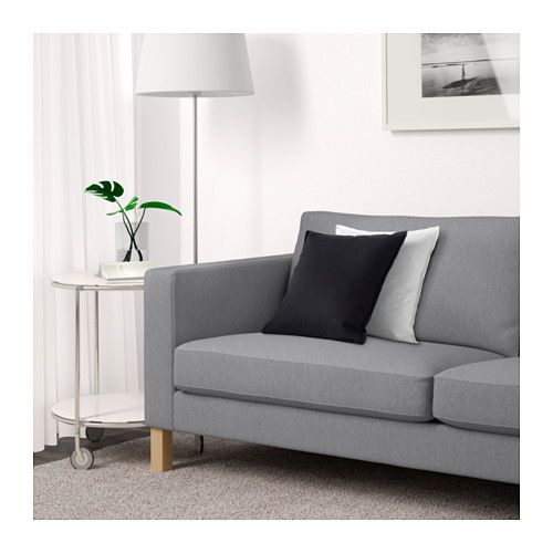Karlstad Sofa Knisa Light Gray With Images Ikea Karlstad Sofa Karlstad Sofa Ikea Sofa