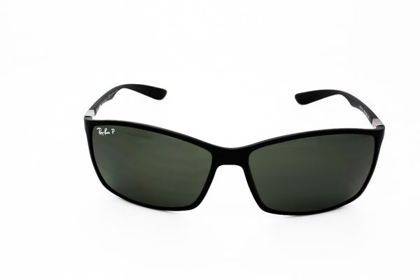 Ray-Ban RB4179 LiteForce Polarized 601S/9A Sunglasses Matte Black | SmartBuyGlasses Canada