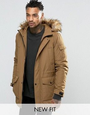 Parkas | Mens parkas and raincoats | ASOS | My Style | Pinterest