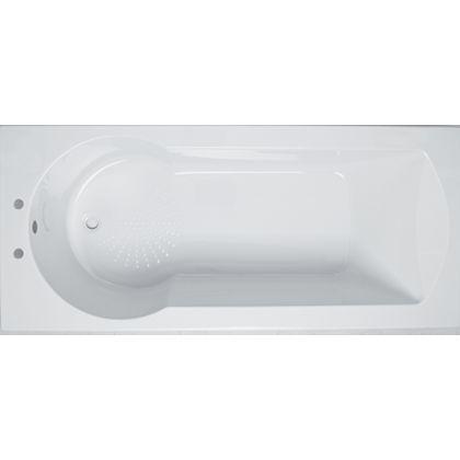 Bathroom Sinks Homebase homebase buttermere shower bath 1700mm | bathroom inspiration