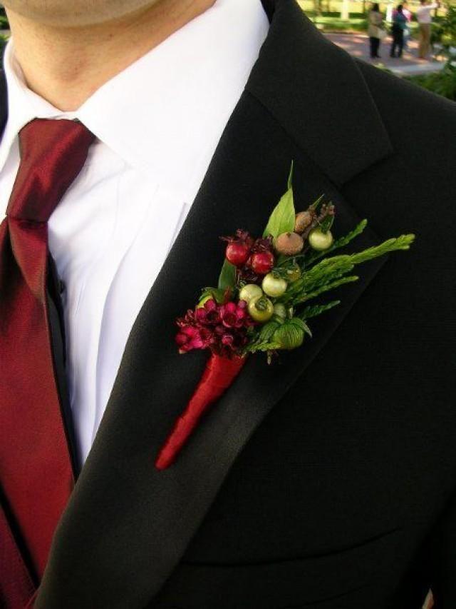 Winter Weddings Wedding Flowers And Burgundy Ruby