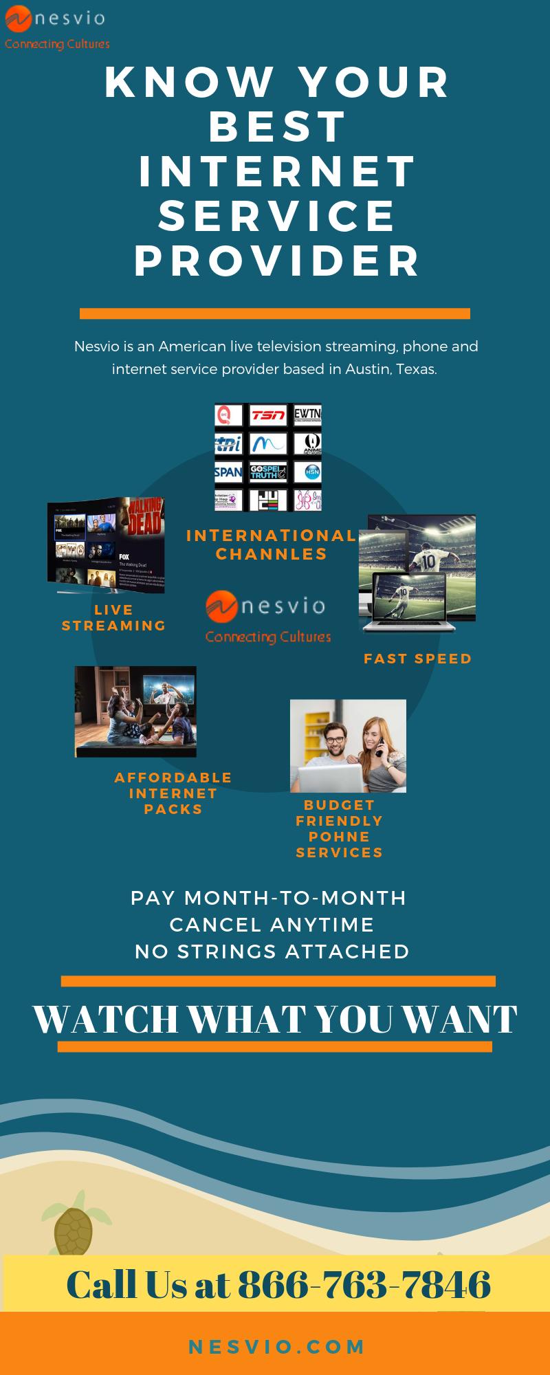 Save more bucks with Nesvio Cheap & Phone Plans