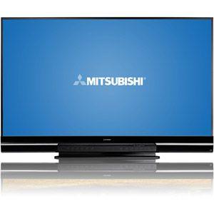 "Mitsubishi 92"" class 3d dlp 1080p hdtv with streamtv internet."