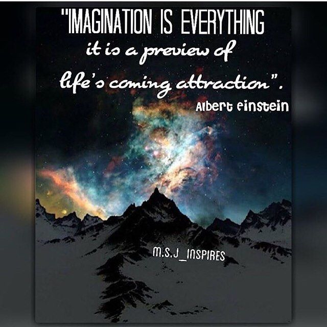 Imagination is the kay to the future achievement   Great one by @m.s.j_inspires  Follow him and you won't regret it  by awsmlifethoughts
