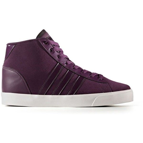 Adidas NEO Cloudfoam Daily QT Mid Women's Shoes ($70) ❤ liked on Polyvore  featuring