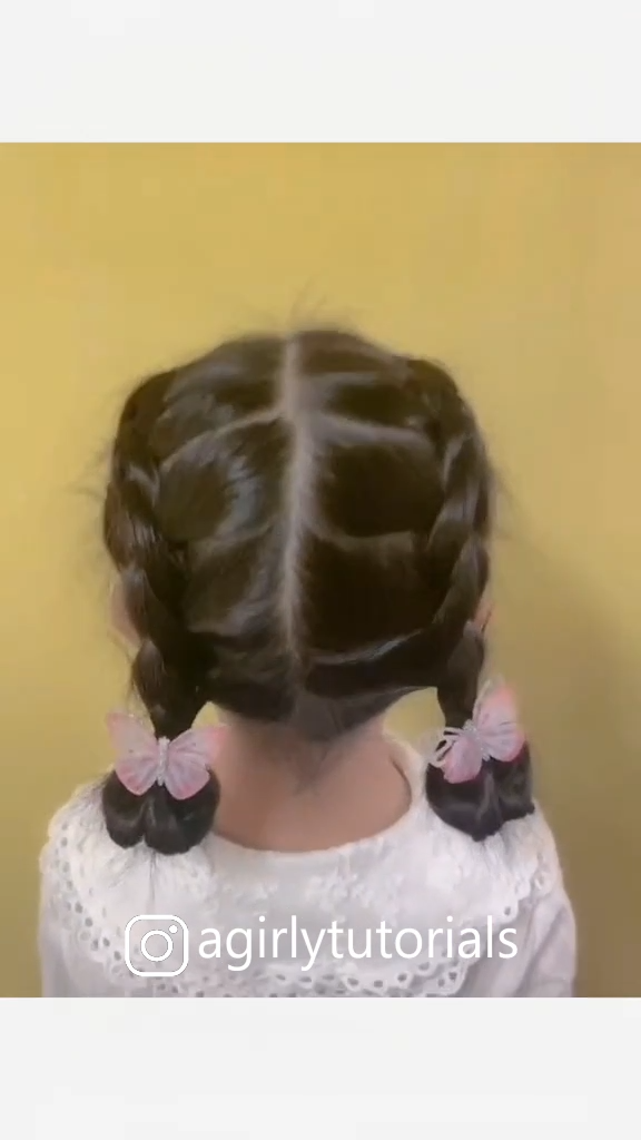 10 Easy and Cute Hairstyles for Little Girls Part 3