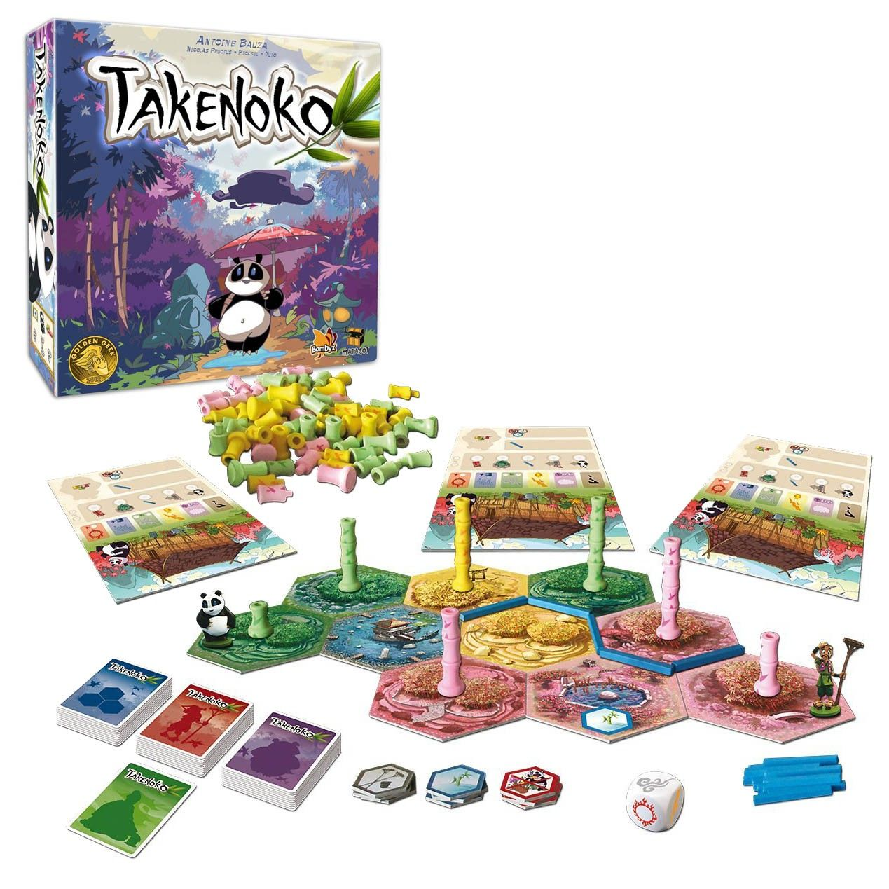Takenoko Board Game Board games, Games, Date night games