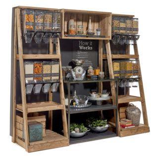 Bulk Food Merchandiser Stands & Bins