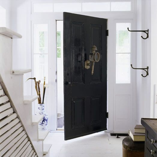 Paints U0026 Exterior Stains | Color Accents, Black Entry Doors And Front Doors