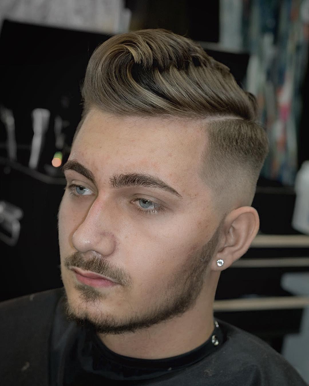 undercut männer frisuren blond