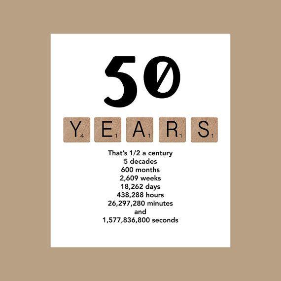50th Birthday Card Milestone Decade 1968 The Big 50 Masculine