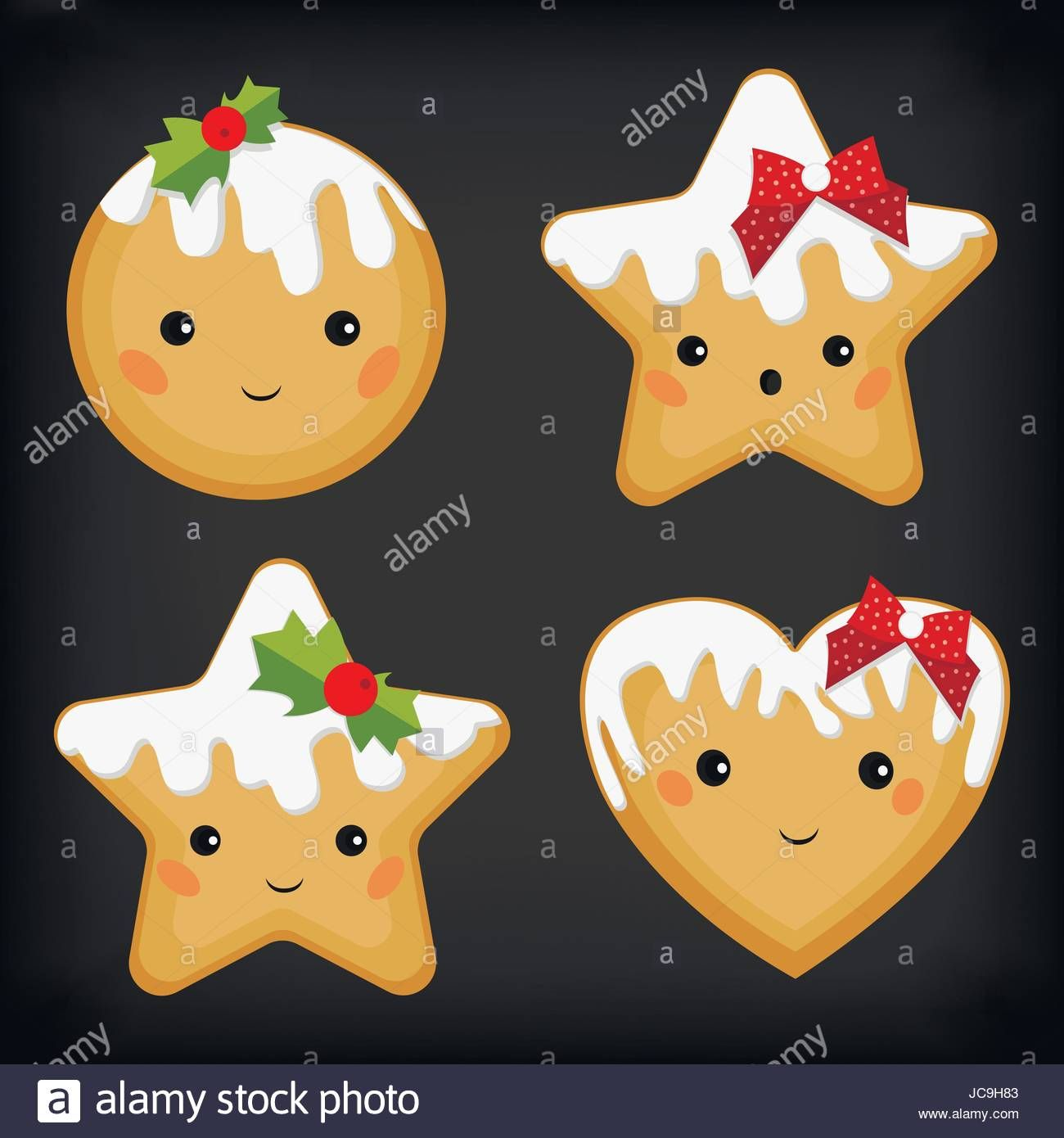 Gingerbread ginger cookie cookies funny cute star heart
