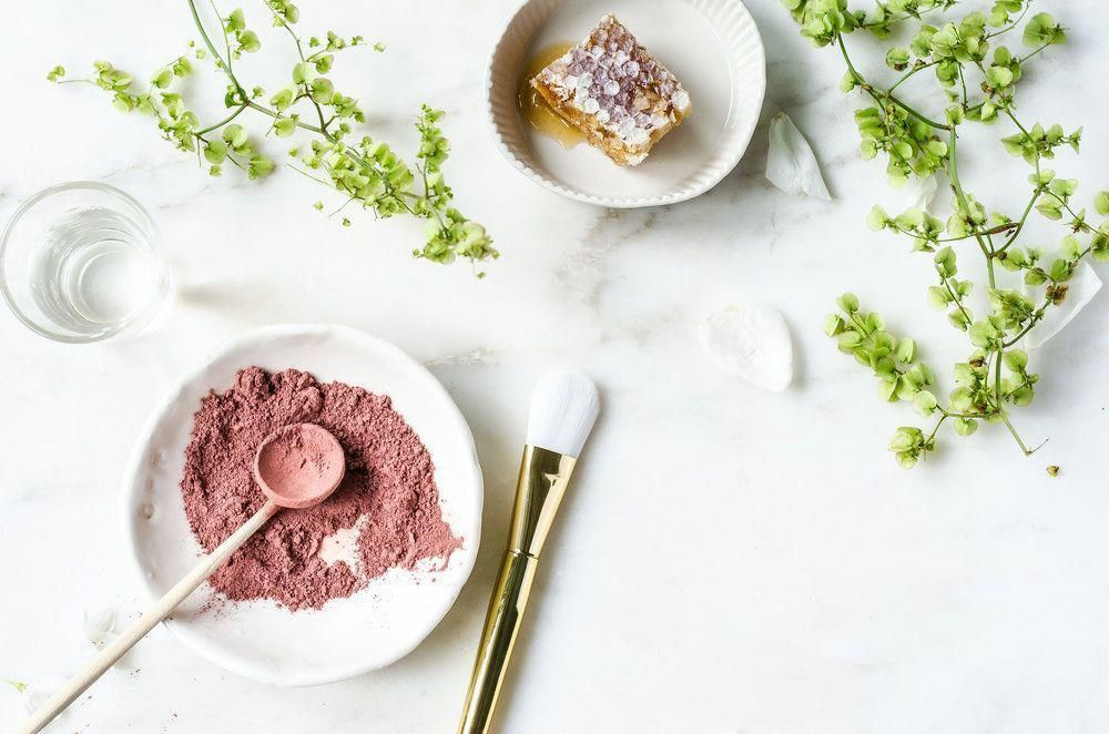 Photo of DIY pink clay face mask recipe #ChocolateFaceMaskRecipe #FaceMaskForSpots #TeaTr…