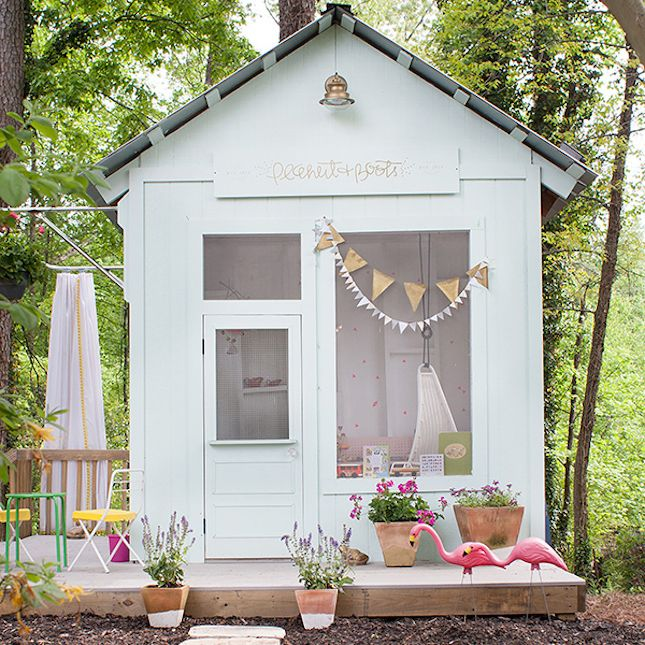 Obsessed With This Children's Playhouse That Resembles A