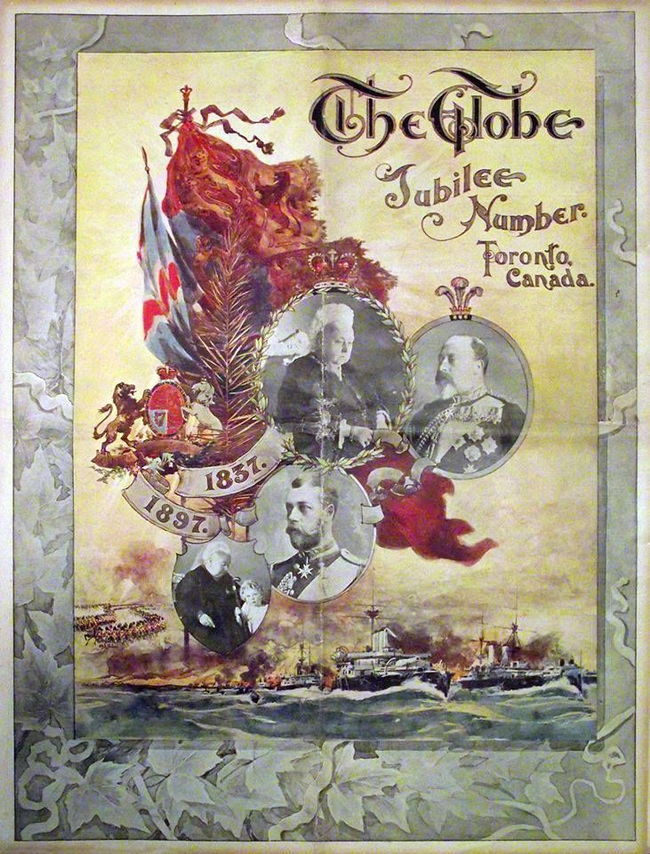 The Globe Newspaper Toronto Special Queen Victoria Jubilee Cover June 9 1897 Via Vintage Toronto From Vintage Stamps Vintage Illustration Illustration