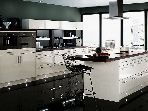 Charmant Black And White Kitchens Black And White Kitchen Decor With .