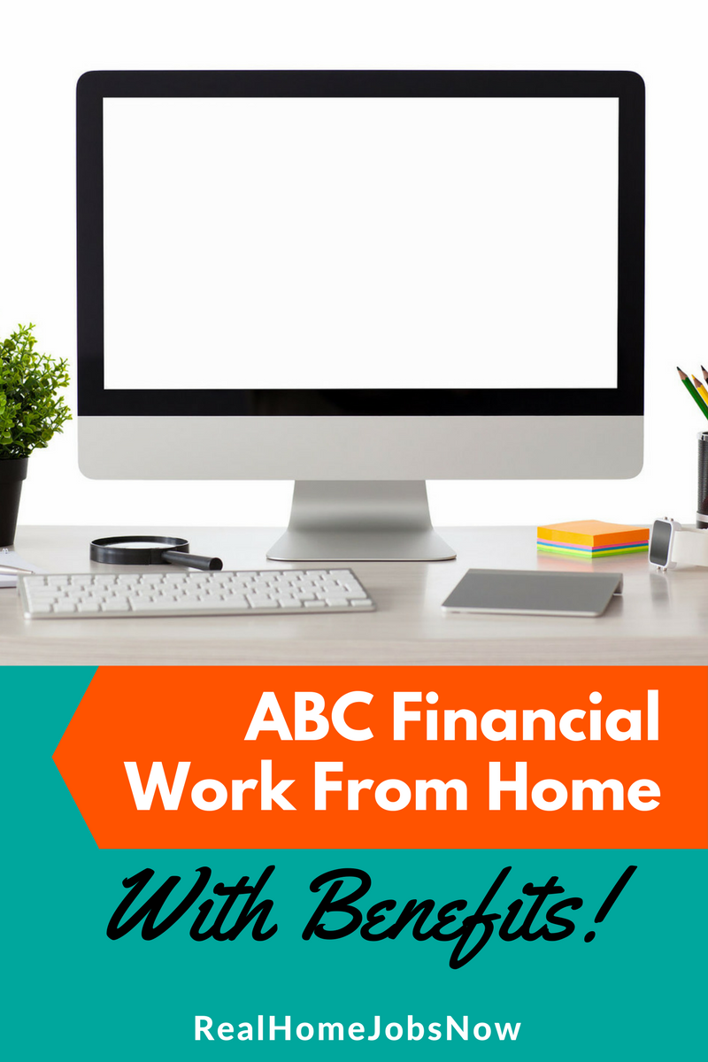 ABC Financial Work From Home Customer Service With Benefits   Job offer