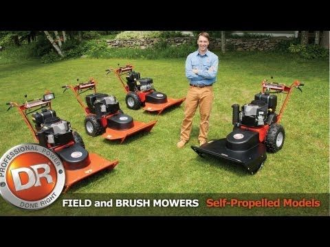 Field and Brush Mowers from DR Power Equipment: Model