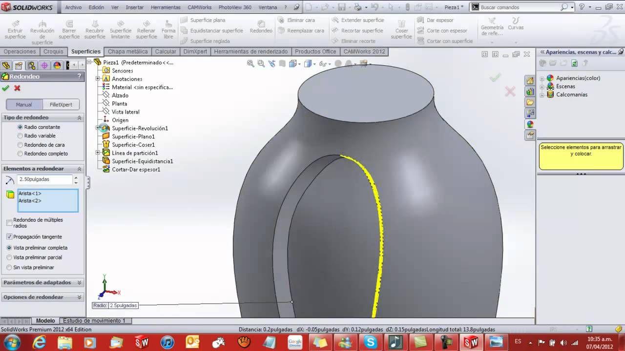 Tutorial de solidworks superficies3d designsurface solidworks tutorial de solidworks superficies3d designsurface baditri Images