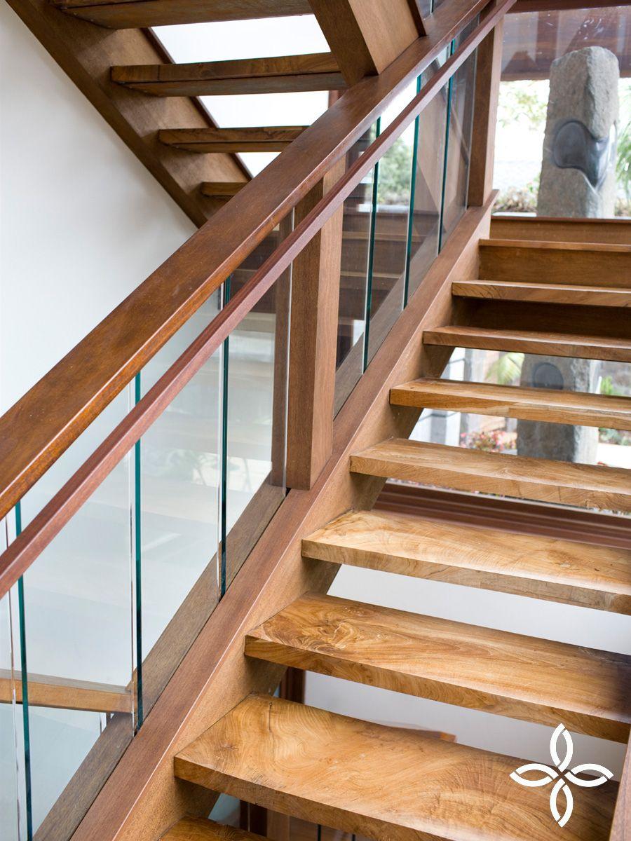 Solid Reclaimed Teak Stair Treads